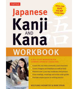 Japanese Kanji and Kana Workbook (Ideal for 5, 4, 3 JLPT Exam)