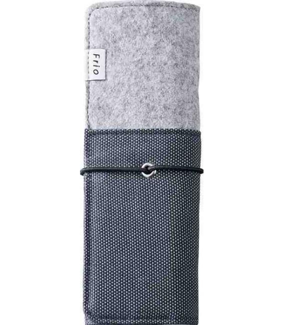 Estuche plegable japonés - Modelo Frio 8401 (Blue) - Color gris y azul