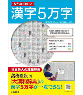 Enjoy looking at 50,000 Kanji - Poster de kanjis