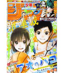 Weekly Shonen Jump - Número 19 - Abril 2021