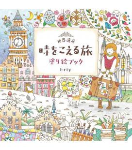 Seikaiisan-ji o koeru tabi Nuri E book - Libro para colorear