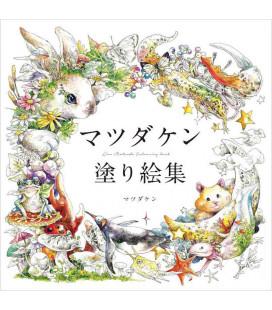 Matsuda Ken nurie-shu - Libro para colorear