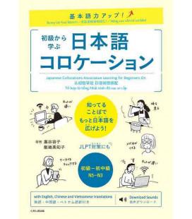 Japanese Collocations - Associative Learning for Beginners On - Incluye descarga de audio