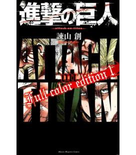 Shingeki no Kyojin (El ataque de los titanes) Full color edition 1