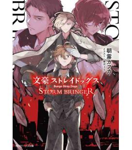 Bungo Stray Dogs - Storm Bringer - Novela japonesa de Kafka Asagiri