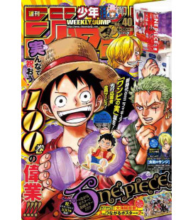 Weekly Shonen Jump - Número 40 - Septiembre 2021