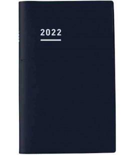 Jibun Techo Kokuyo - Agenda 2022 - Biz Diary - A5 Slim - Color negro