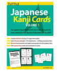 Japanese Kanji Cards Kit Volume 1