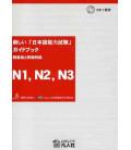 Atarashii Nihongo Noryoku Shiken Guidebook N1, N2, N3 (Incluye CD)