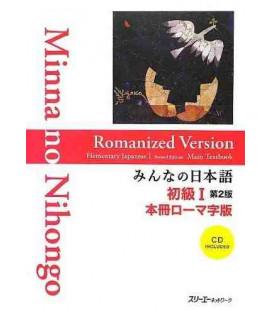 Minna no Nihongo Elemental 1- Libro de texto(Honsatsu-Shokyu 1)Versión Romanizada-Incluye CD - 2º Ed