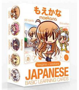 Moekana (Second Edition) Hiragana-Katagana Flashcards (Para aprender Hiragana y Katagana)
