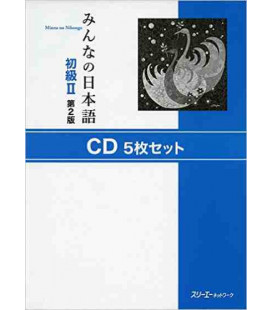 Minna No Nihongo Elemental 2- Set de 5 CD (Shokyu 2) Segunda edición