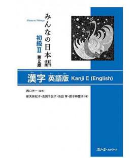 Minna no Nihongo Elemental 2 - Libro de Kanji en inglés (Shokyu 2 - Kanji Eigo Ban) Segunda edición
