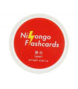 "Cinta adhesiva decorativa japonesa ""Nihongo flashcards"" - Yatai (Tapas callejeras)"
