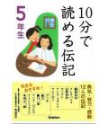 """10-Bu de yomeru denki """"Biografías"""" (Lecturas 5º primaria en Japón)"""