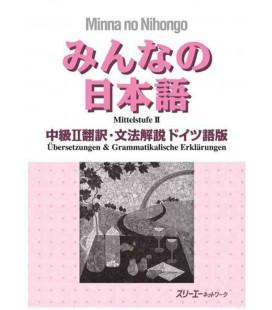 Minna no Nihongo - Nivel Intermedio 2 - Translation & Grammar Notes in German (Chukyu 2)