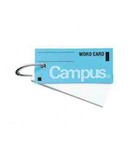 Mini tarjetas de vocabulario - Campus Kokuyo (85 hojas-Tapa color azul)