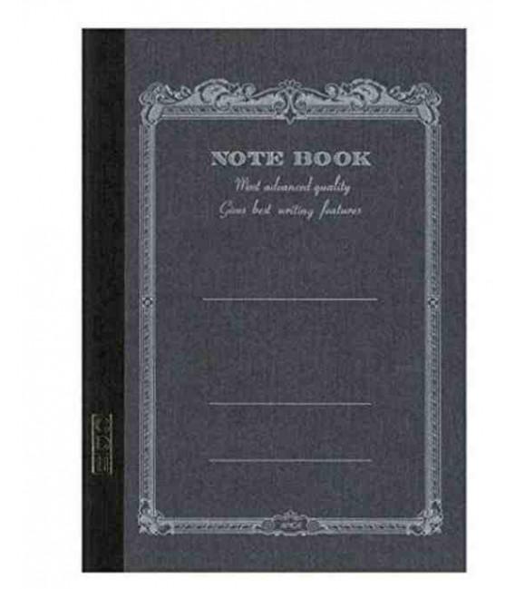 Apica CD11-BK Notebook (Tamaño A5 - color negro - 56 páginas)
